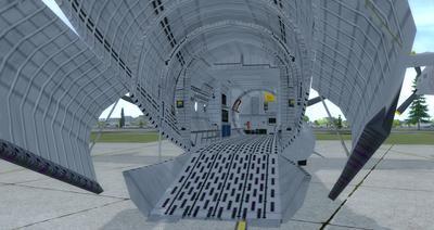 Reelaboració 133 de Douglas C 2.0B Cargomaster FSX P3D  6