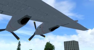 Reelaboració 133 de Douglas C 2.0B Cargomaster FSX P3D  7