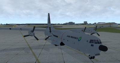 Reelaboració 133 de Douglas C 2.0B Cargomaster FSX P3D  8