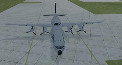 Reelaboració 133 de Douglas C 2.0B Cargomaster FSX P3D  9