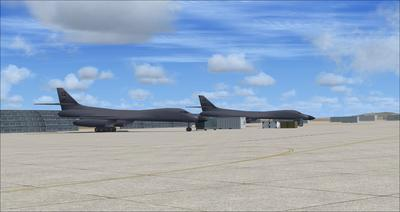 Edwards Air Force Base KEDW Fotoreal FSX P3D  1