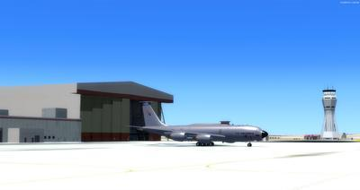 Edwards Air Force Base KEDW Fotoreal FSX P3D  11