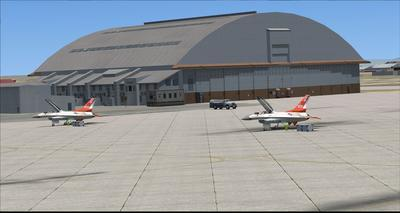 Edwards Air Force Base KEDW Fotoreal FSX P3D  14