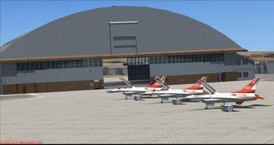 Edwards Air Force Base KEDW Fotoreal FSX P3D  15