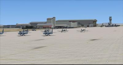 Edwards Air Force Base KEDW Fotoreal FSX P3D  16
