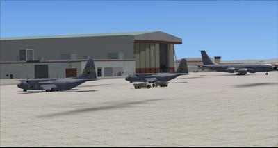 Edwards Air Force Base KEDW Fotoreal FSX P3D  17