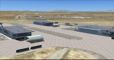 Edwards Air Force Base KEDW Fotoreal FSX P3D  22