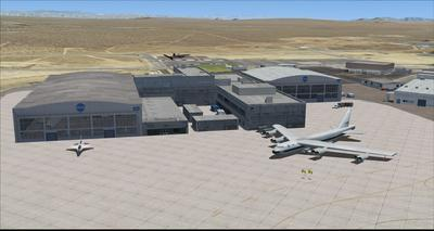 Edwards Air Force Base KEDW Fotoreal FSX P3D  24