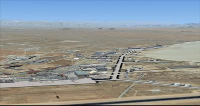 Edwards Air Force Base KEDW Fotoreal FSX P3D  3