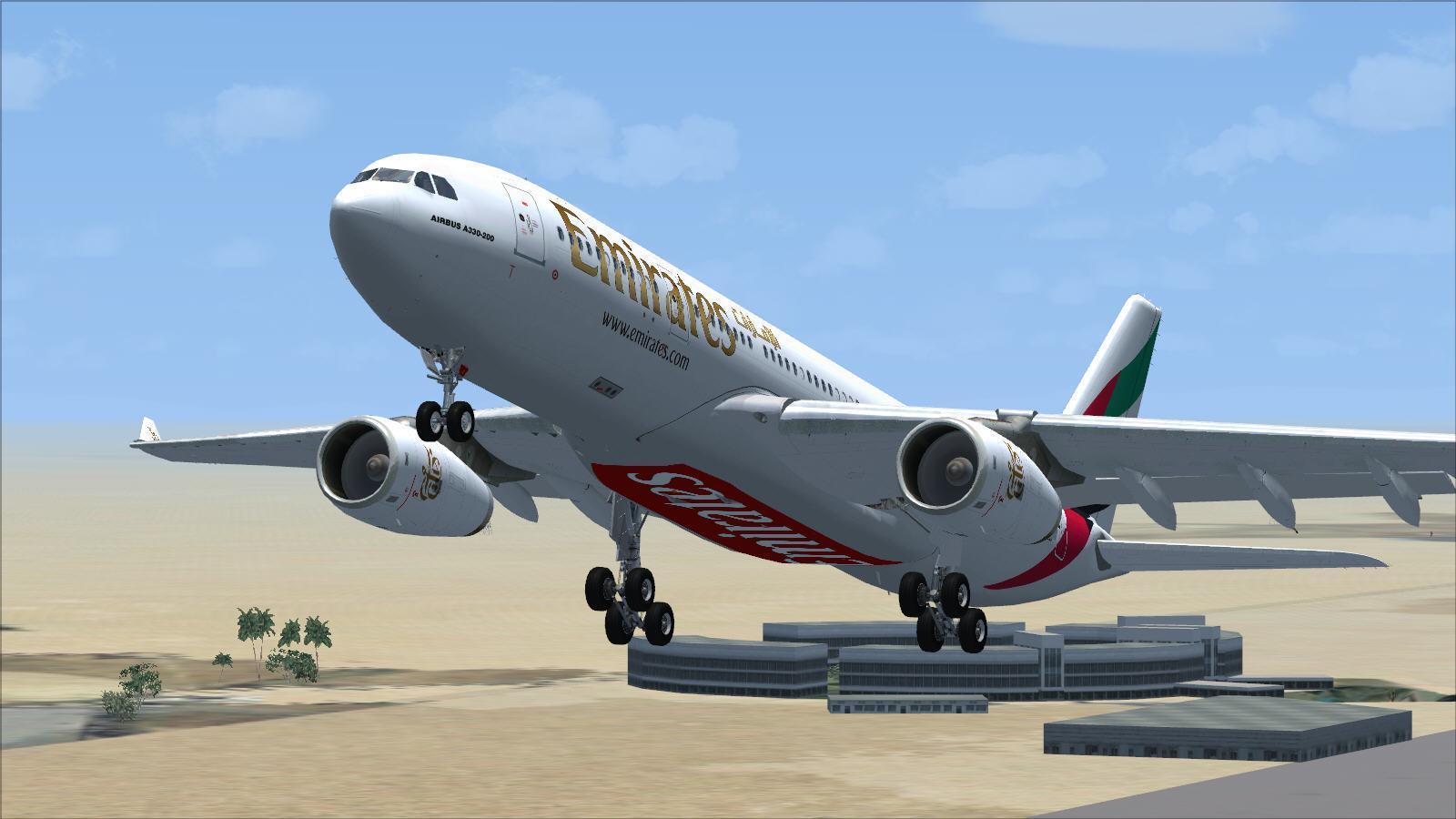 flotte emirates fsx