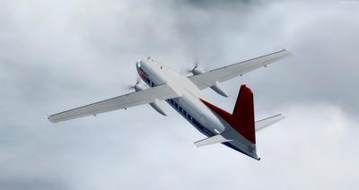Сім'я Fokker 27 FSX P3D  12