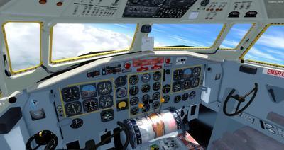 Сім'я Fokker 27 FSX P3D  2