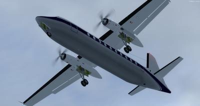 Сім'я Fokker 27 FSX P3D  4