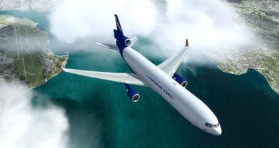 """McDonnell Douglas MD 11 Multi Livery"" FSX P3D  23"