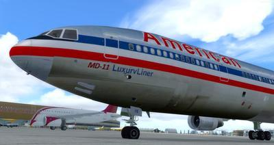 """McDonnell Douglas MD 11 Multi Livery"" FSX P3D  4"