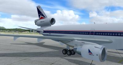 """McDonnell Douglas MD 11 Multi Livery"" FSX P3D  6"
