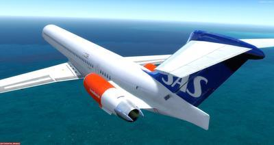 McDonnell Douglas MD 80 Series Multi Livery FSX P3D  26