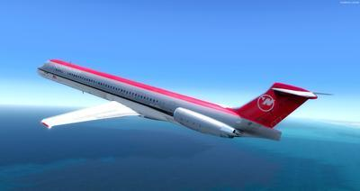 McDonnell Douglas MD 80 Series Multi Livery FSX P3D  32