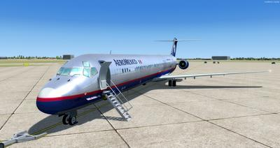 McDonnell Douglas MD 80 Series Multi Livery FSX P3D  4