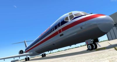 McDonnell Douglas MD 80 Series Multi Livery FSX P3D  7
