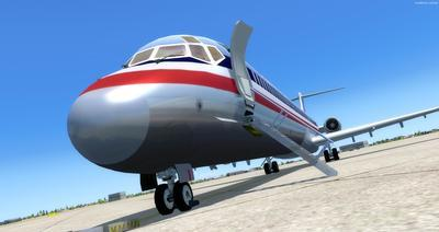 McDonnell Douglas MD 80 Series Multi Livery FSX P3D  8