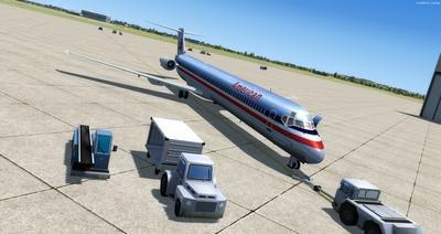 McDonnell Douglas MD 80 Series Multi Livery FSX P3D  9