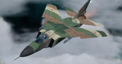 MiG 23 Flogger FSX P3D  11
