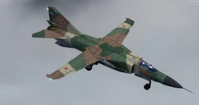 MiG 23 Flogger FSX P3D  2