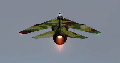 MiG 23 Flogger FSX P3D  4