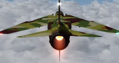 MiG 23 Flogger FSX P3D  6