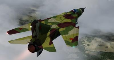MiG 23 Flogger FSX P3D  7