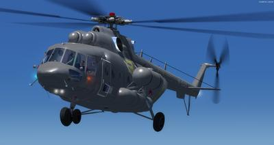 Mil Mi 171 Air Force na Rúise FSX P3D  12