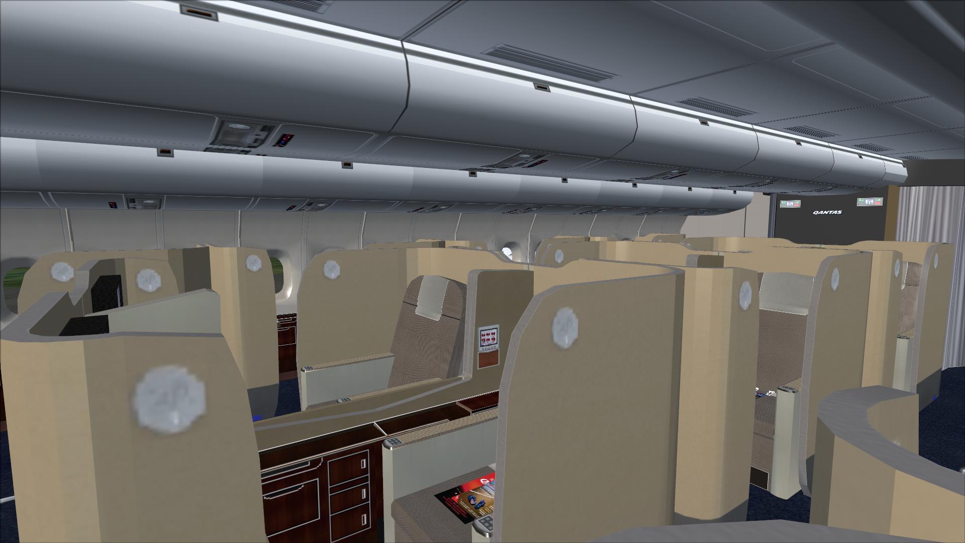 Qantas agọ 01