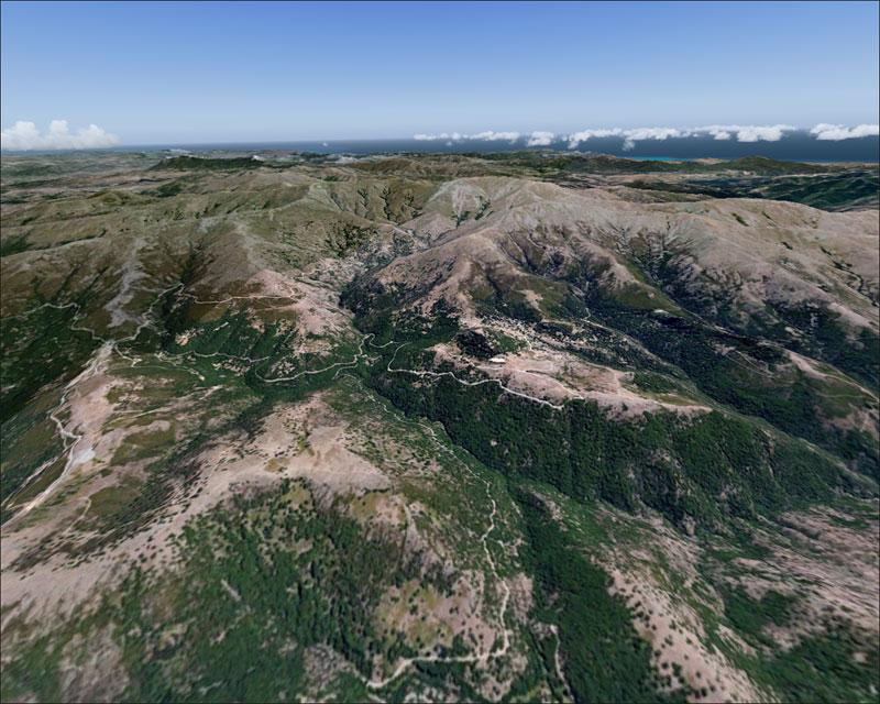Bergsmassivet Gennargentu