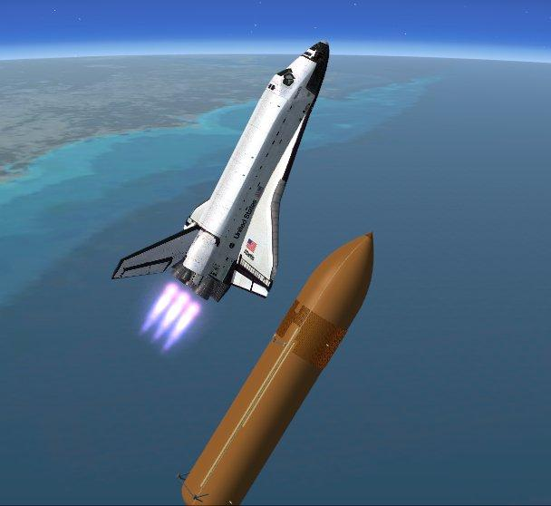 fsx space shuttle atlantis flight - photo #5