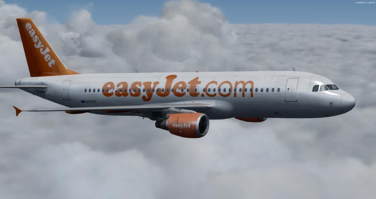 DOWNLOAD PA Airbus A320-200 EasyJet FSX - Rikoooo
