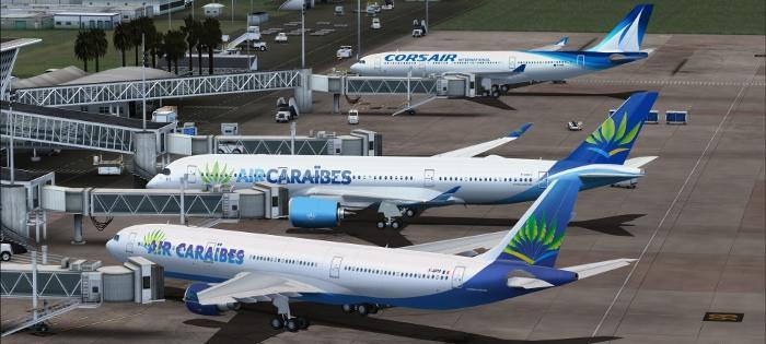 DOWNLOAD Airbus A350-900 XWB Multi Livery Pack FSX & P3D
