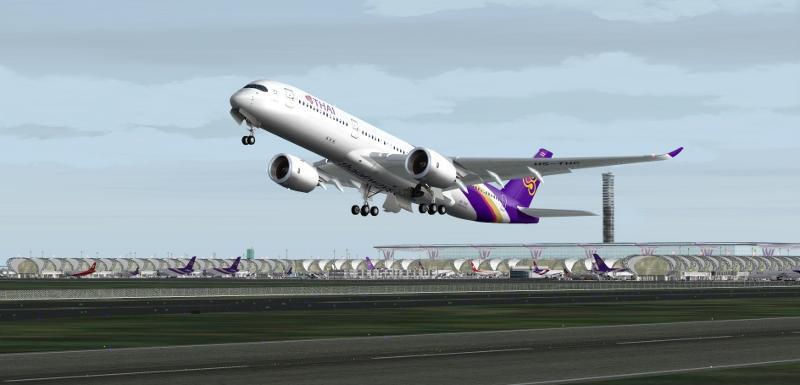 DOWNLOAD Airbus A350-900 XWB Multi Livery Pack FSX & P3D - Rikoooo
