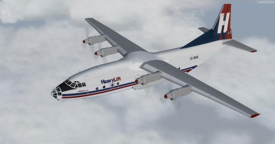 Antonov An-12bk cub 1