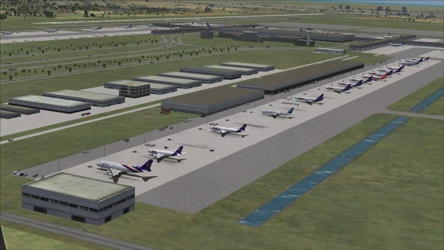 DOWNLOAD Bangkok VTBD & VTBS Airports FSX & P3D - Rikoooo