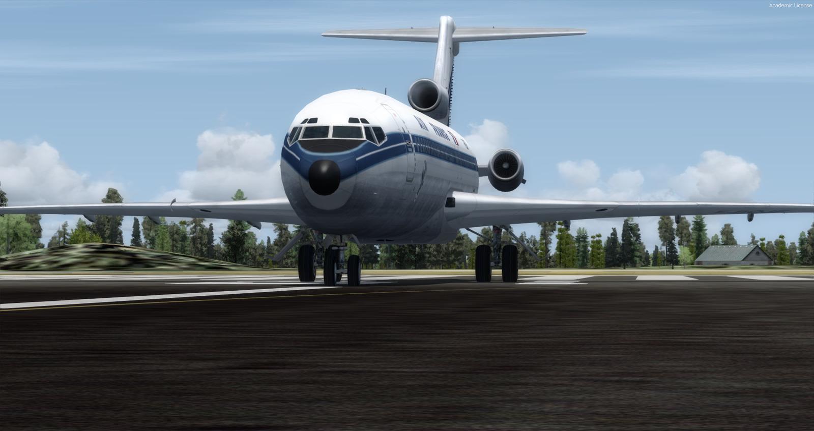 727 aircraft missing