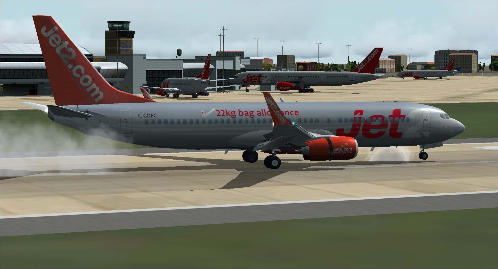 DOWNLOAD Boeing 737-800 Jet2 com Package FSX & P3D - Rikoooo