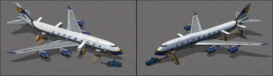 Boing 747 8i Lufthansa 7