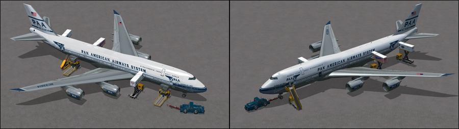 போயிங் 747 8i Panam XX