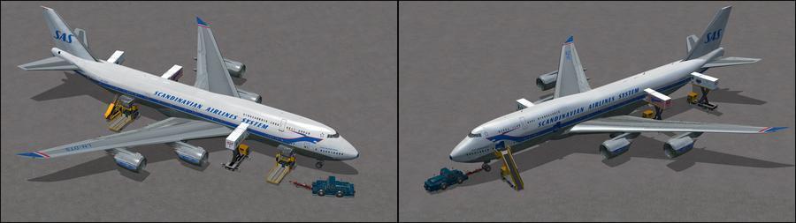 Boeing 747 8i sas 7