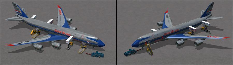 போயிங் 747 8I United 7