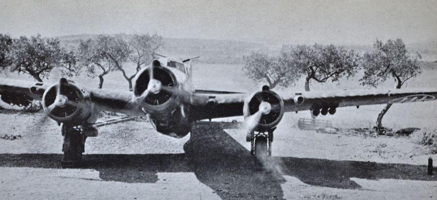 motona Pyar Z.1007 bis Sicily 1941