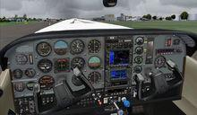 Cessna T206H Soloy turbina Pac Mark 2 FSX P3D  17
