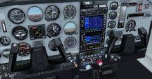 Cessna T206H Soloy turbina Pac Mark 2 FSX P3D  7
