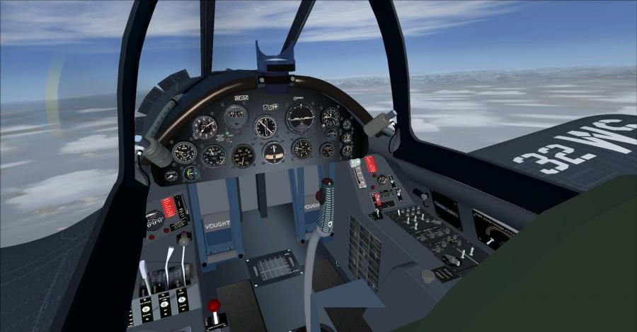 အခွင့်အလမ်း vought f4u-6 နှင့် 7 corsair-3